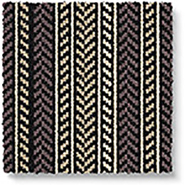 Quirky B Hot Herring Ebony Carpet 7136