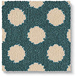 Quirky B Spotty Duck Egg Carpet 7142