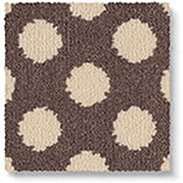 Quirky B Spotty Grey Carpet 7143