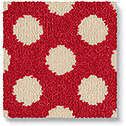 Quirky B Spotty Red 7144