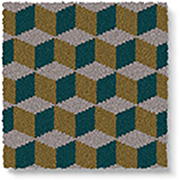 Quirky B Ben Pentreath Cube Soane Carpet 7244