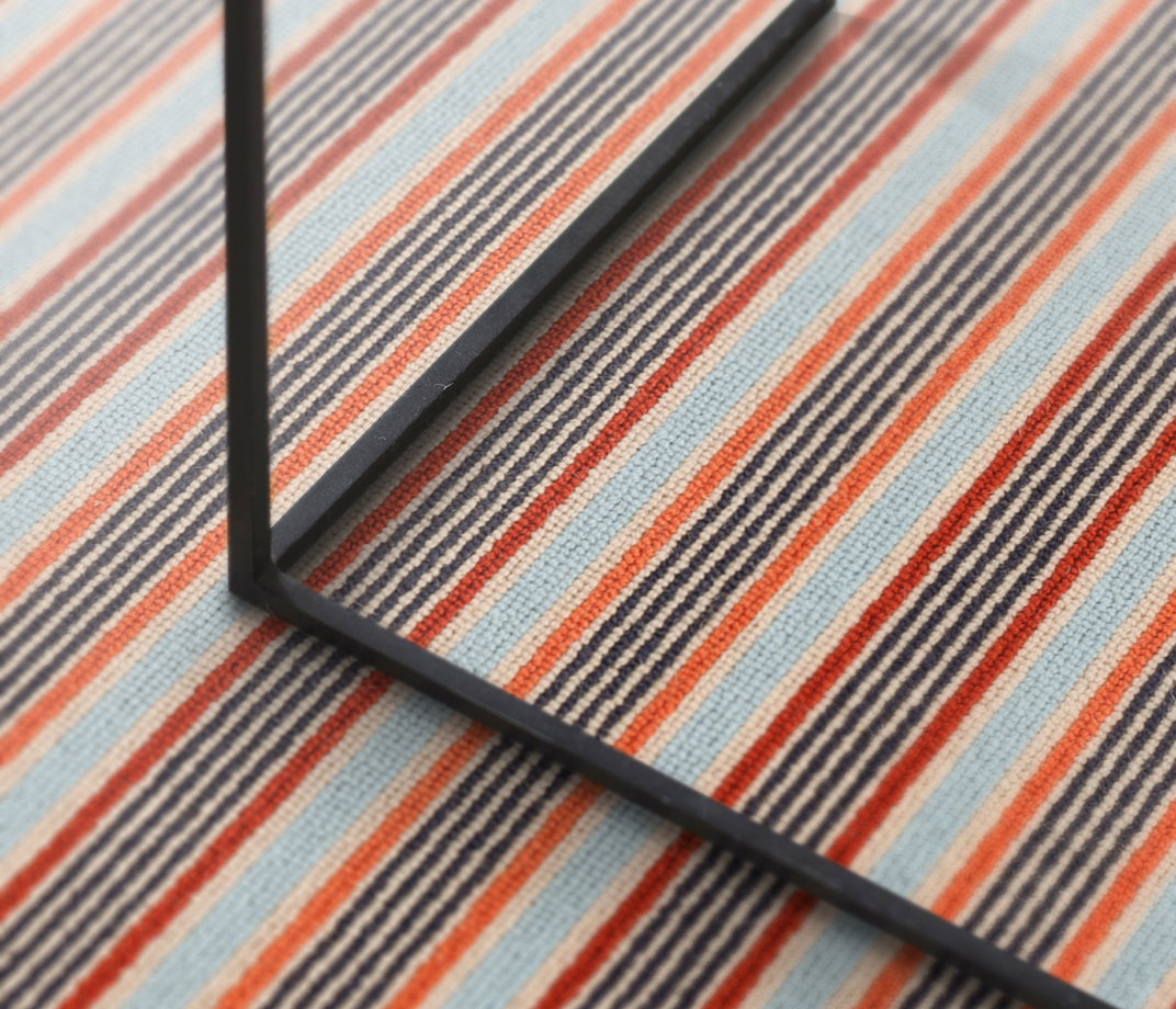 Margo Selby Stripe Frolic Pegwell Carpet 1922 lifestyle
